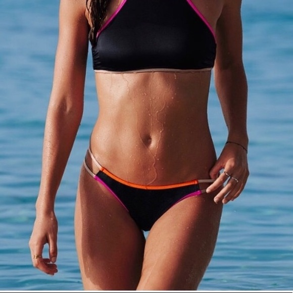 PINK Victoria's Secret Other - Contrast Swim bottoms